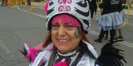 Mary Pepa Orantos, pregonera del Carnaval 2016, en Badajoz