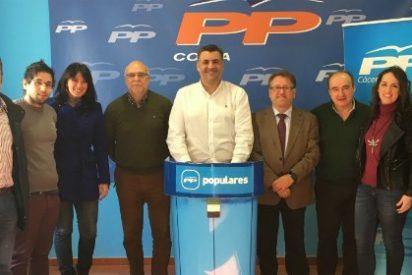 PP reivindica a la Junta que continúe con las obras de la EX-A1 hasta el límite con la frontera portuguesa