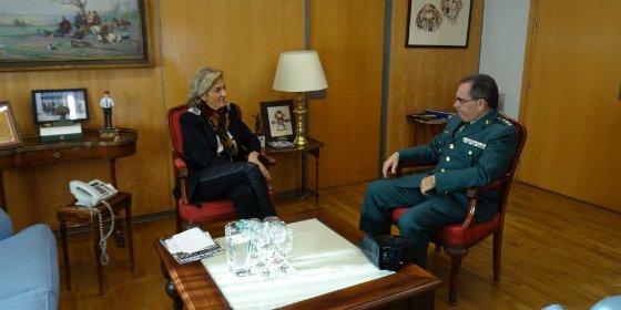 Miguel Olivares, nuevo coronel de la Guardia Civil en Extremadura