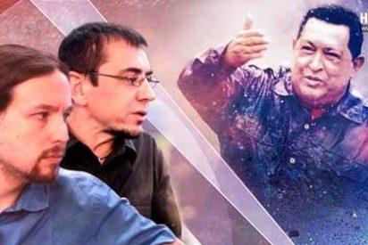 Así asesoraban Pablo Iglesias y sus 'cuates' al tirano Hugo Chávez: con dosieres políticos del PP