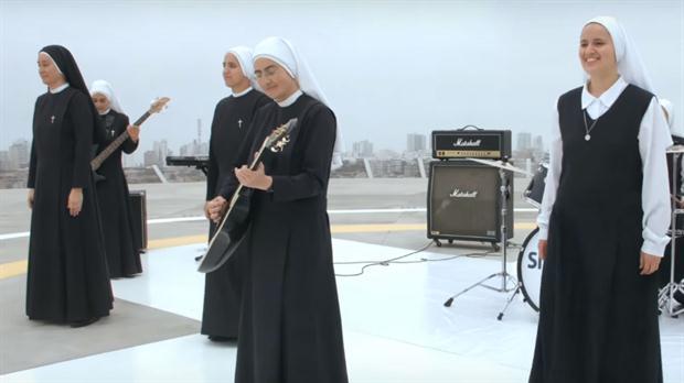 Las monjas rockeras actuarán frente al Papa