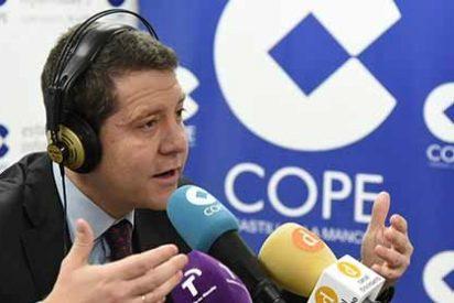 García-Page se pone farruco en COPE y niega recortes en la educación concertada