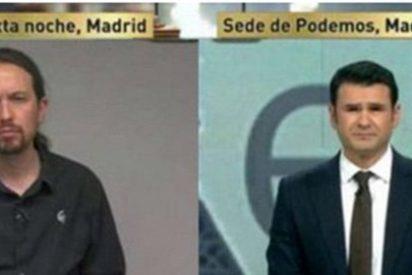 Descacharrante error en los rótulos durante una entrevista con Pablo Iglesias en laSexta Noche