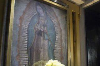 El Papa a los pies de la Virgen que llora por su México lindo