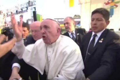 """Así se cabrea el Papa Francisco por tocarle las narices en el peligroso Michoacán: """"¡No seas egoísta!"""""""
