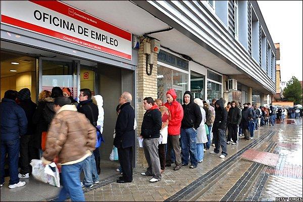 La afiliación da un susto a España en enero de 2016