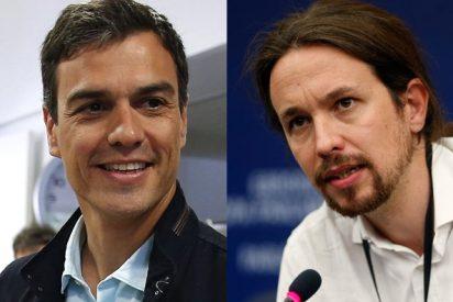 Pablo Iglesias y Pedro Sánchez o cómo darse hostias como panes