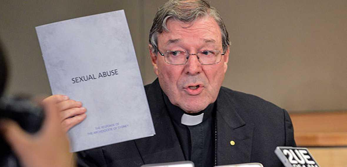 """Pell: """"No estoy aquí para defender lo indefendible. La Iglesia ha cometido enormes errores y trabaja para remediarlos"""""""
