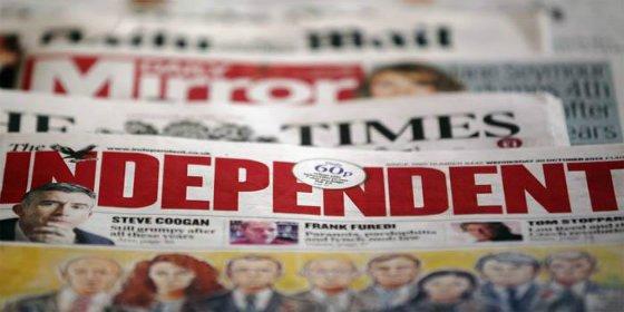 'The Independent' pliega velas: cerrará en marzo su publicación en papel