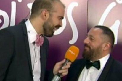 """[VÍDEO] El enfado de Pepón Nieto con TVE en los Goya: """"Estoy hasta los huevos de estos comentarios"""""""