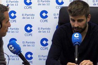 Gerard Piqué se pone a dar clases de ortografía y lecciones de periodismo a la Cadena COPE