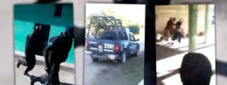 El brutal vídeo de los policías que huyen y dejan que unos sicarios maten a un hombre