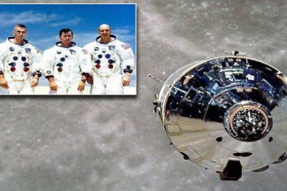 [VÍDEO] La reacción de los astronautas del Apolo 10 al oír música alienígena en la cara oculta de la Luna