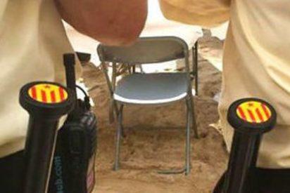 Ayuntamientos independentistas catalanes incorporan al equipo la porra con estelada