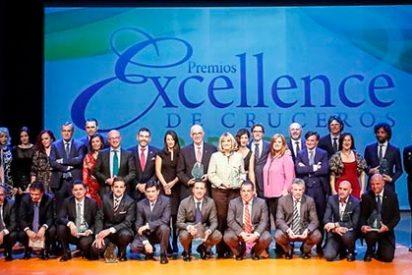 Cartagena albergó la IX edición de los Premios Excellence de cruceros