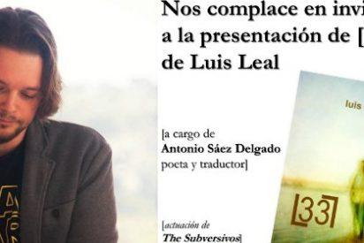Luis Leal presenta su poemario el 20 de febrero en la Biblioteca Pública de Badajoz