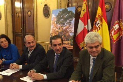 """Presentación de la candidatura del Pino-Roble de Canicosa de la Sierra al Concurso """"Árbol Europeo del Año"""""""
