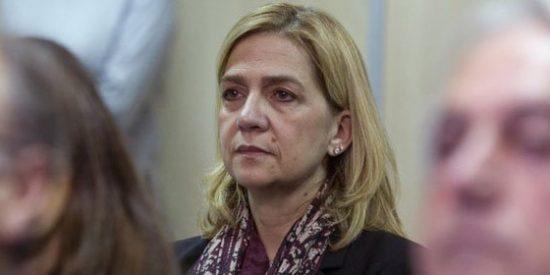 El 'rebotín' de la Infanta Cristina: protesta porque ve vulnerado su derecho a la defensa