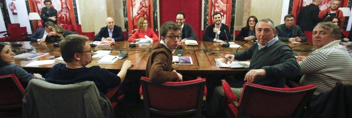 IU y Compromís también se cabrean y cortan las charlas con el PSOE