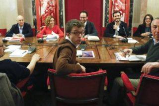 Acaba sin acuerdo la 'ensalada roja' del PSOE con IU, Podemos y Compromís