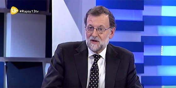 """Mariano Rajoy: """"El señor Sánchez quiere ser presidente del Gobierno aunque sea por un día"""""""