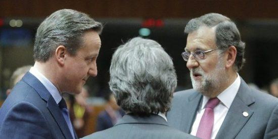 Rajoy a Cameron: