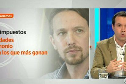 """Así ve el economista Rallo el programa económico de Podemos: """"Es una fantasía"""""""