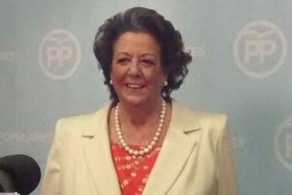 """Rita Barberá: """"A pesar de las ansias de la izquierda para lapidarme, les digo muy clarito que no dimito"""""""