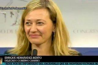 La jueza podemita Victoria Rosell monta el pollo porque no la dejan pasar a la sala de autoridades del aeropuerto de Gran Canaria