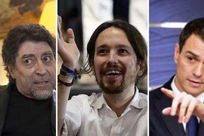 """Tremendo palo de Sabina a Sánchez e Iglesias: """"Es vomitivo el nivel de los líderes políticos"""""""