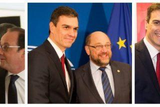 Pedro Sánchez se hace 'selfies' en Bruselas mientras su investidura va camino al desastre