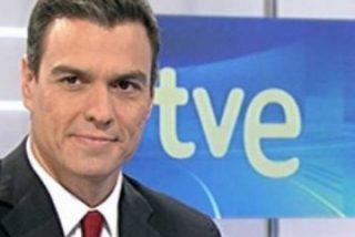 """Pedro Sánchez se siente maltratado por TVE: """"Los tertulianos parecen sacados de Intereconomía y 13TV"""""""