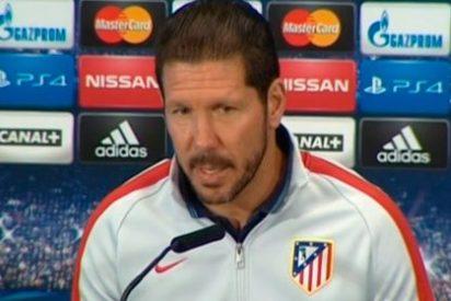 """Simeone: """"¿La Liga? Estamos a seis puntos del Villarreal"""""""