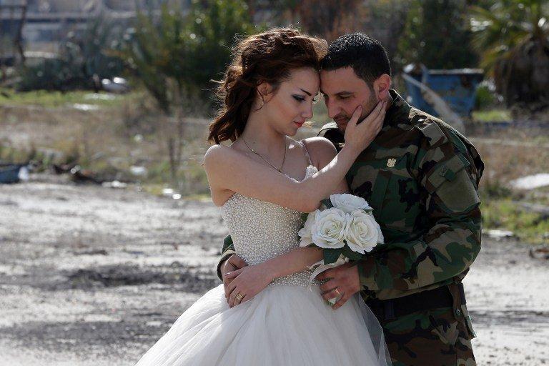 Una boda en la guerra