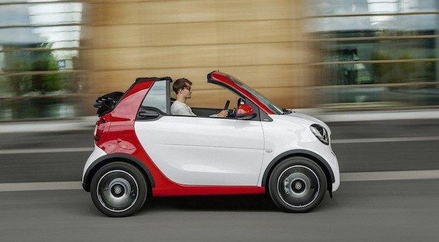 Smart fortwo cabrio, júbilo en la ciudad