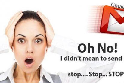 ¿Sabías que tienes 30 segundos para 'frenar' en Gmail un correo que no te guste?