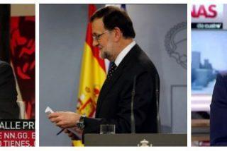 """Al PP le cae la """"mierda a punta pala"""" del estercolero valenciano en las televisiones que Moncloa protegió"""