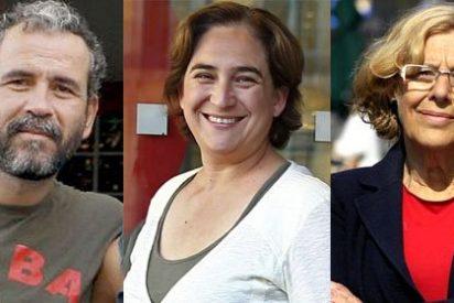 Willy Toledo pone de vuelta y media a las 'alcaldesas del cambio' Colau y Carmena