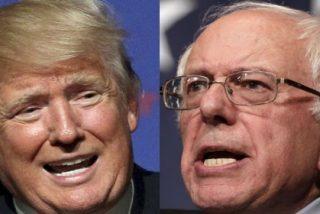 Donald Trump y Bernie Sanders ganan las primarias de New Hampshire