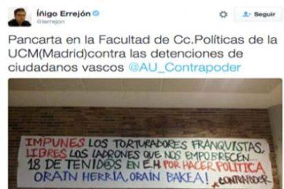 Iñigo Errejón intenta borrar el rastro de los tuits donde mostraba su simpatía por el mundo abertzale y proetarra