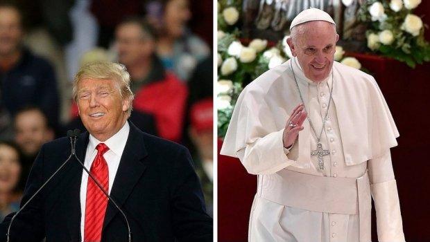 Donald Trump critica que el Papa vaya a visitar la frontera