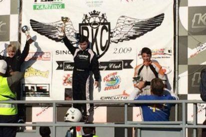 Debut de Miguel Grande en el Campeonato de Andalucía de Karting