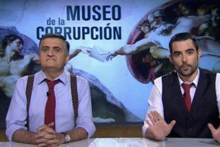 La 'amnesia' de Gran Wyoming: hace un Museo de la Corrupción donde 'olvida' incluir piezas que hagan referencia a Jordi Pujol y Podemos
