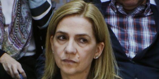 """La Infanta: """"Confío plenamente en mi marido y en su inocencia"""""""