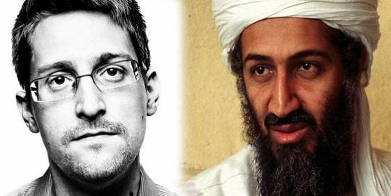 Atribuyen al 'topo' Snowden un bulo sobre Bin Laden que deja a Twitter patidifuso