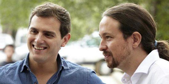 Ciudadanos adelanta a Podemos como tercer partido político más votado en España