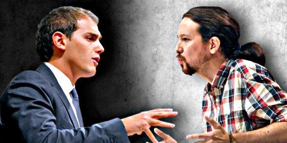 Rivera llama la atención a Iglesias por palmero de Otegi y el podemita se rebela faltando