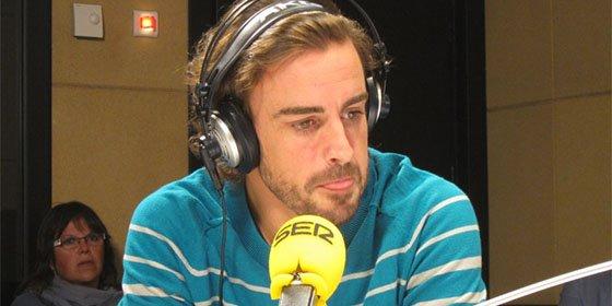 """Fernando Alonso: """"Intentas hacerte pequeño para que no haya ningún choque en la cabeza"""""""