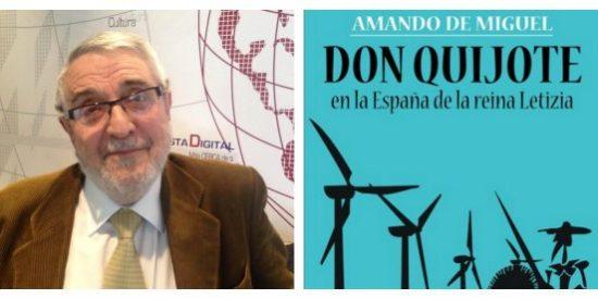 """Amando de Miguel: """"Don Quijote no entendería la entrada de Turquía en la Unión Europea, en su época eran nuestros enemigos"""""""