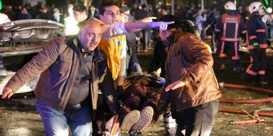 La explosión del coche bomba que ha matado a 34 personas en Ankara